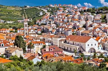 Kroatie Stad