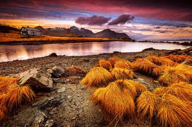Noorwegen toeristen plek