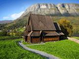 Pagan tempel in Noorwegen